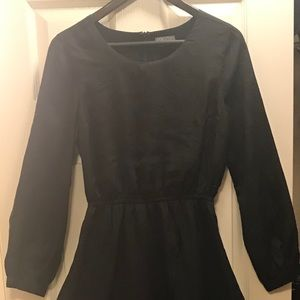 LUCCA COUTURE Black Keyhole Dress